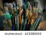 brushes | Shutterstock . vector #623380343