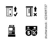 automated teller machine....   Shutterstock .eps vector #623409737