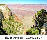 panorama of the national park... | Shutterstock . vector #623421527