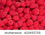 Fresh And Sweet Raspberries...