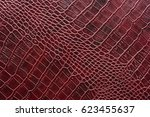 crocodile leather for... | Shutterstock . vector #623455637
