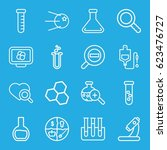 research icons set. set of 16...   Shutterstock .eps vector #623476727