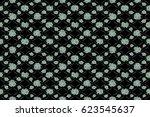 raster illustration. seamless...   Shutterstock . vector #623545637