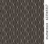stylish wave line seamless...   Shutterstock . vector #623565317