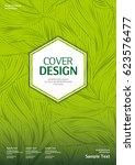 business vector template. book... | Shutterstock .eps vector #623576477