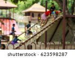 Abstract Blur Playground Kid...