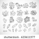Doodle Sketch Crystals....