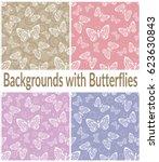 set seamless backgrounds  tile...   Shutterstock .eps vector #623630843