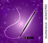 premium brand fine glittery eye ... | Shutterstock .eps vector #623652983