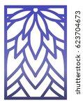 vector laser cut panel. pattern ...   Shutterstock .eps vector #623704673