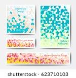 vector modern polygonal...   Shutterstock .eps vector #623710103