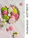easter cookies. | Shutterstock . vector #623738273