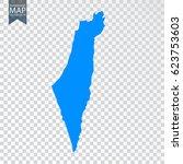 transparent   high map of... | Shutterstock .eps vector #623753603