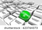 automate it vs manual work... | Shutterstock . vector #623764373