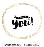 thank you. typography for... | Shutterstock .eps vector #623818217