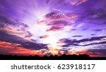 the sky | Shutterstock . vector #623918117