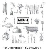 Vintage Kitchen Utensils Illustration vintage kitchen utensils free vector art - (11265 free downloads)