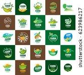 logo farm food | Shutterstock .eps vector #623986217