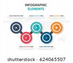 abstract colorful circle... | Shutterstock .eps vector #624065507