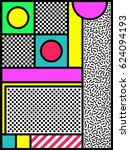 colorful poster design of... | Shutterstock .eps vector #624094193