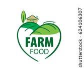 logo farm food | Shutterstock .eps vector #624106307
