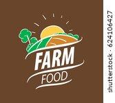 logo farm food | Shutterstock .eps vector #624106427