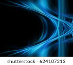abstract blue background | Shutterstock . vector #624107213