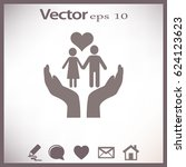 family care vector | Shutterstock .eps vector #624123623