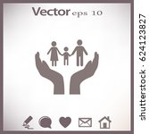 family care vector | Shutterstock .eps vector #624123827