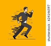 line flat design vector... | Shutterstock .eps vector #624146597