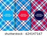red  white  blue and navy... | Shutterstock .eps vector #624147167