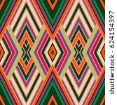 vector seamless pattern ... | Shutterstock .eps vector #624154397