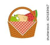 picnic concept design | Shutterstock .eps vector #624183467