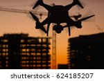 Silhouette Of Unmanned Aircraf...