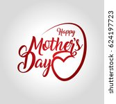 mothers day vector illustration | Shutterstock .eps vector #624197723