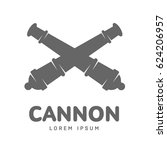 Abstract Vector Cannon Label...