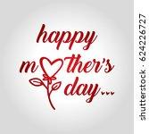mother's day | Shutterstock .eps vector #624226727