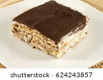 cake with chocolate and candied ... | Shutterstock . vector #624243857