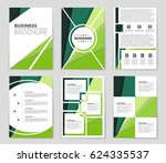 abstract vector layout... | Shutterstock .eps vector #624335537