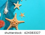 marine blue background with... | Shutterstock . vector #624383327