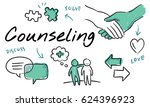 mental health care sketch... | Shutterstock . vector #624396923
