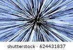 hyperspace jump  light speed up ... | Shutterstock .eps vector #624431837