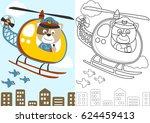 vector cartoon of cat the...