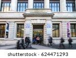 south kensington  london  uk ... | Shutterstock . vector #624471293