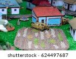 Model Toy German Tank Diorama