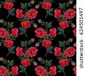flowers. abstract wallpaper... | Shutterstock . vector #624501497