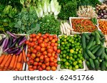 Fresh Vegetables Market  Luang...