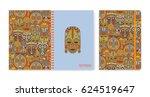 cover design for notebooks or... | Shutterstock .eps vector #624519647