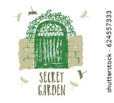 Secret Garden Design Card Brus...