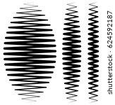 vertical criss cross wavy... | Shutterstock . vector #624592187